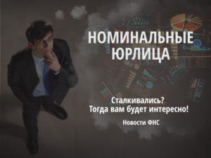 Номинальные юрлица, Какие физлица создают номинальные юрлица (Версия ФНС России)